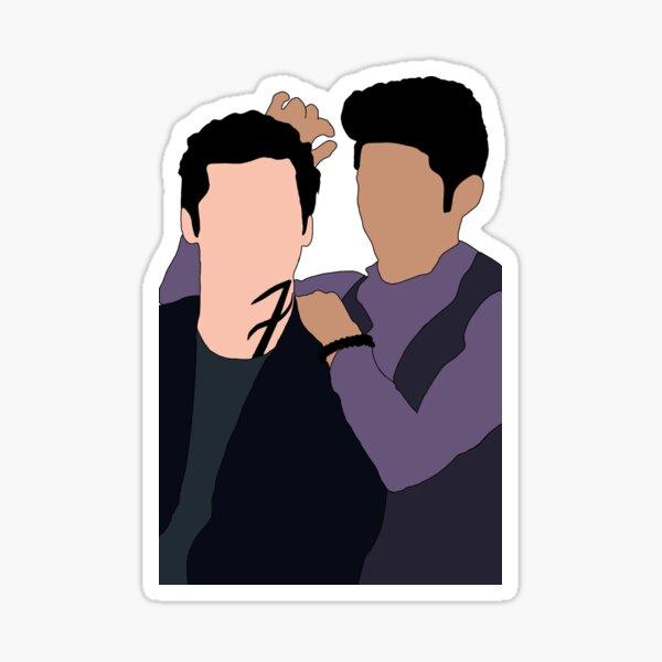 Malec Couple Sticker