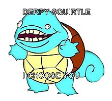 Lmfao photographic prints redbubble - Derpy squirtle ...