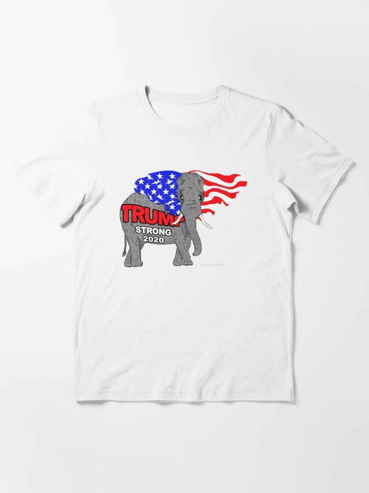 Alternate view of Trump Strong 2020 Essential T-Shirt