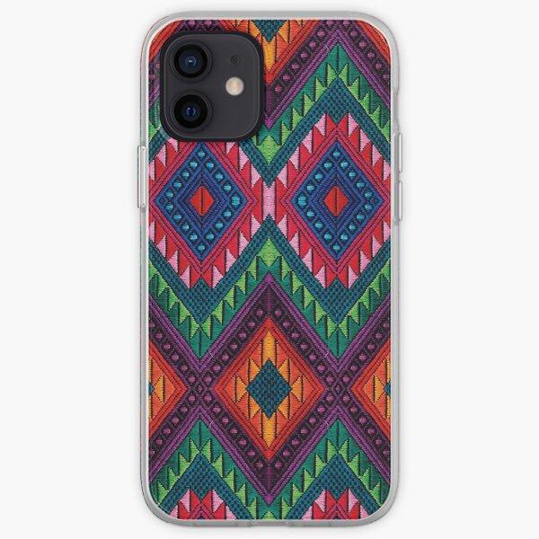 Diseño Maya Serpiente Maya Funda blanda para iPhone