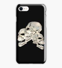 Three Skull T_shirt iPhone Case/Skin