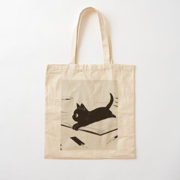 Little Cat Cotton Tote Bag