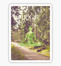 Yoga Forest Book Sticker