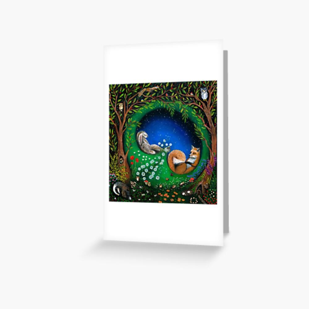 Midsummer Night's Dream Greeting Card