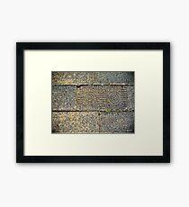 Corinth Brick Framed Print