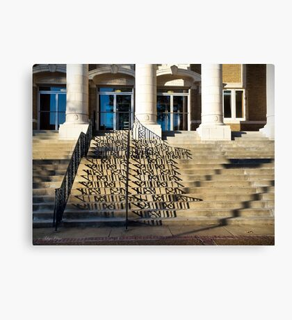 Alcorn County Courthouse, Corinth MS Canvas Print