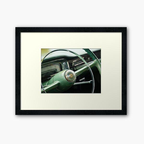 Elegant Steering - Coupe deVille Framed Art Print