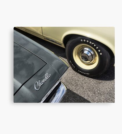 Chevelle Detail Canvas Print