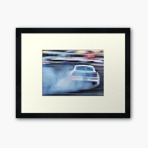 2015 Ford Mustang Framed Art Print