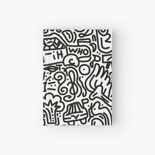 Famous impatient patient mask  Hardcover Journal