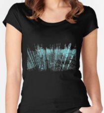 Binary Matrix  Women's Fitted Scoop T-Shirt