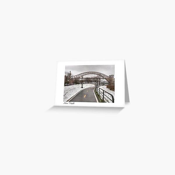Astoria Footpath Greeting Card