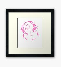 spider-gwen  Framed Print