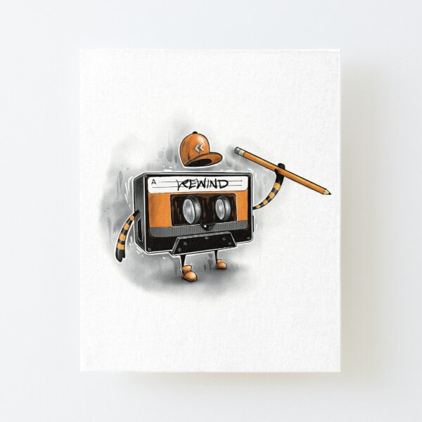 Rewind Canvas Mounted Print