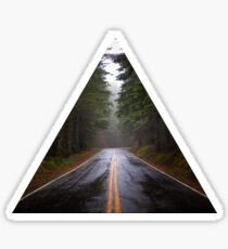 Forest Road Sticker