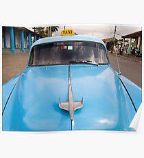 Blue Taxi - Vinales Poster