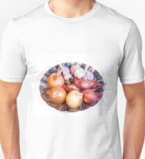 onion, shallot, garlic Unisex T-Shirt