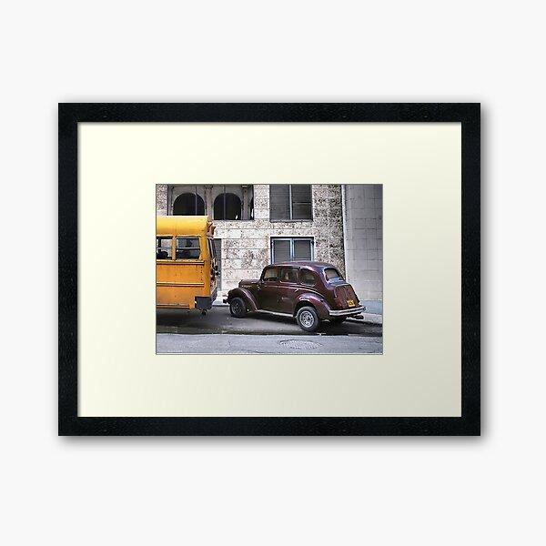 On Every Backstreet - Havana Framed Art Print