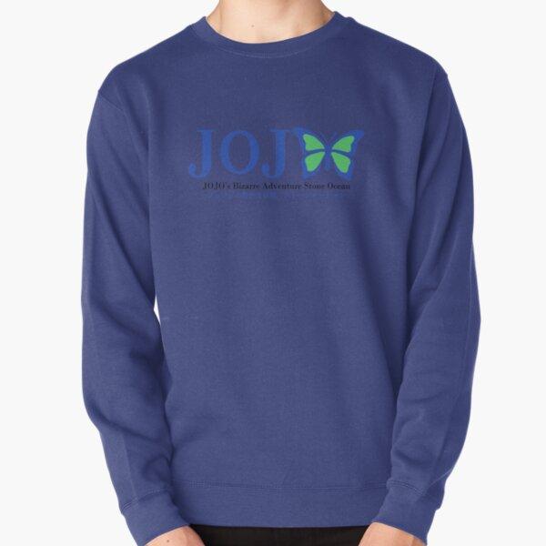 Logo de fan de Stone Ocean (Ver bleu) Sweatshirt épais