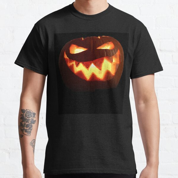 Nasty Halloween Pumpkin  Classic T-Shirt