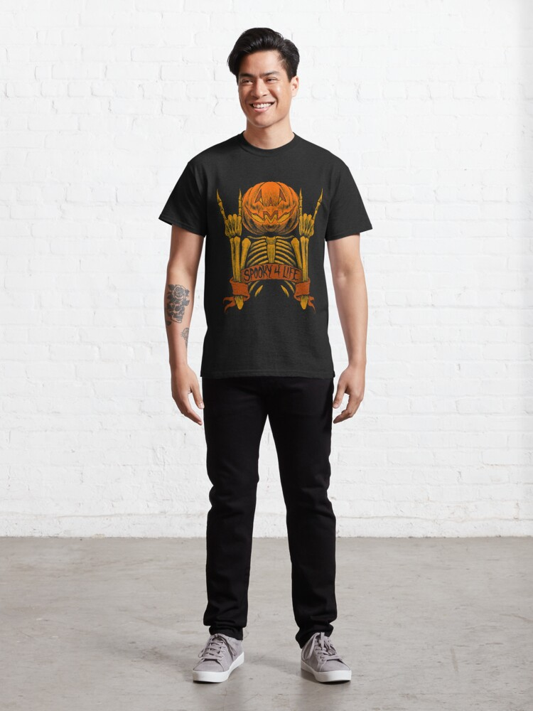 Alternate view of Spooky 4 Life Classic T-Shirt