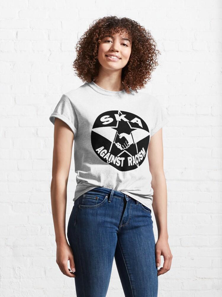 Alternate view of 2TONE Ska Against Racism Classic T-Shirt