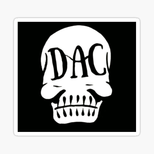 DAC SKULL 2020 Sticker