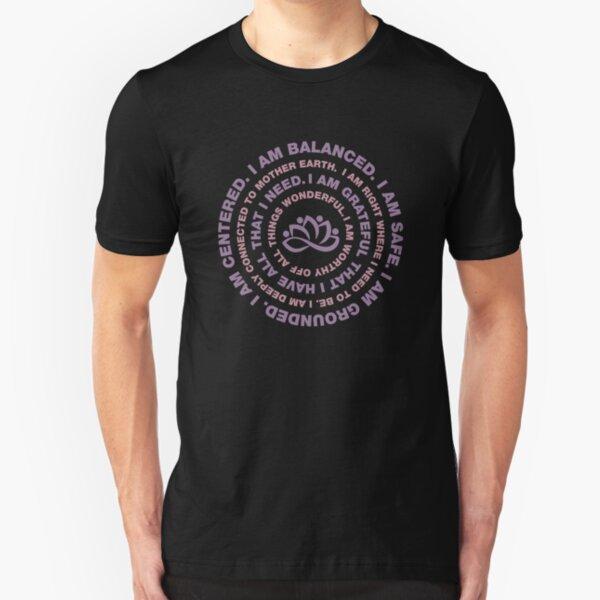 Yoga Motivational Slim Fit T-Shirt