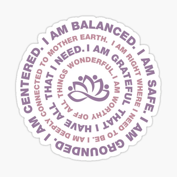 Yoga Motivational Sticker