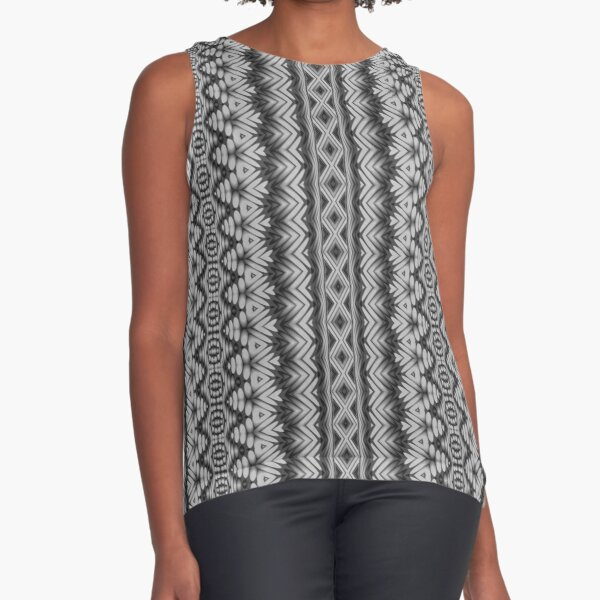 LaFara Crochet 2 Sleeveless Top