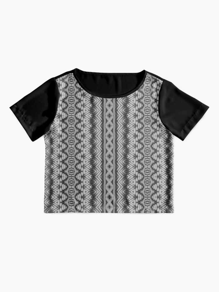 Alternate view of LaFara Crochet 2 Chiffon Top