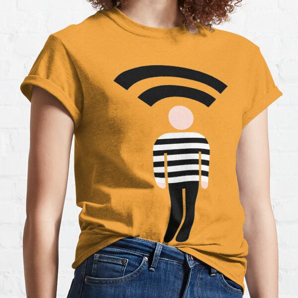 Criminal Records Logo Classic T-Shirt
