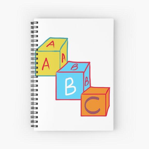 ABC Spiral Notebook