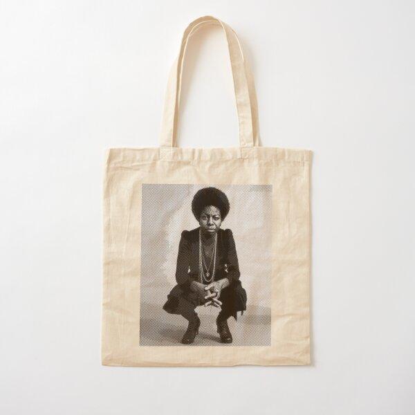 Nina Simone Cotton Tote Bag