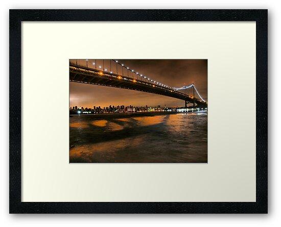 The Lights of the Triborough Bridge by ponycargirl