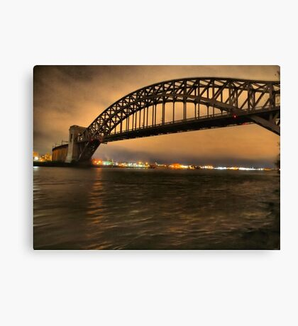 The Hellgate Bridge Canvas Print