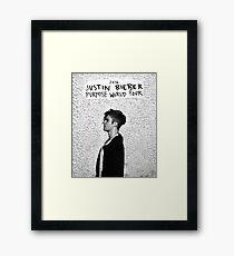 Purpose World Tour 2016 Framed Print