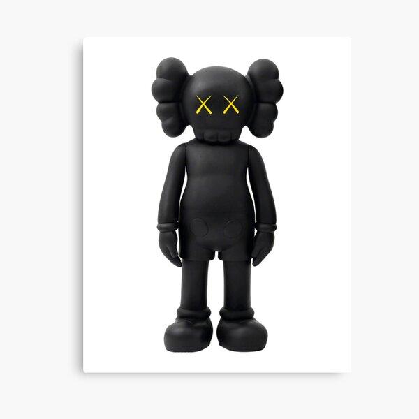 the black robo Canvas Print