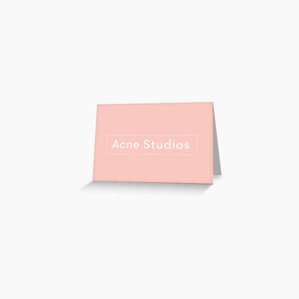 Akne-Studios Grußkarte