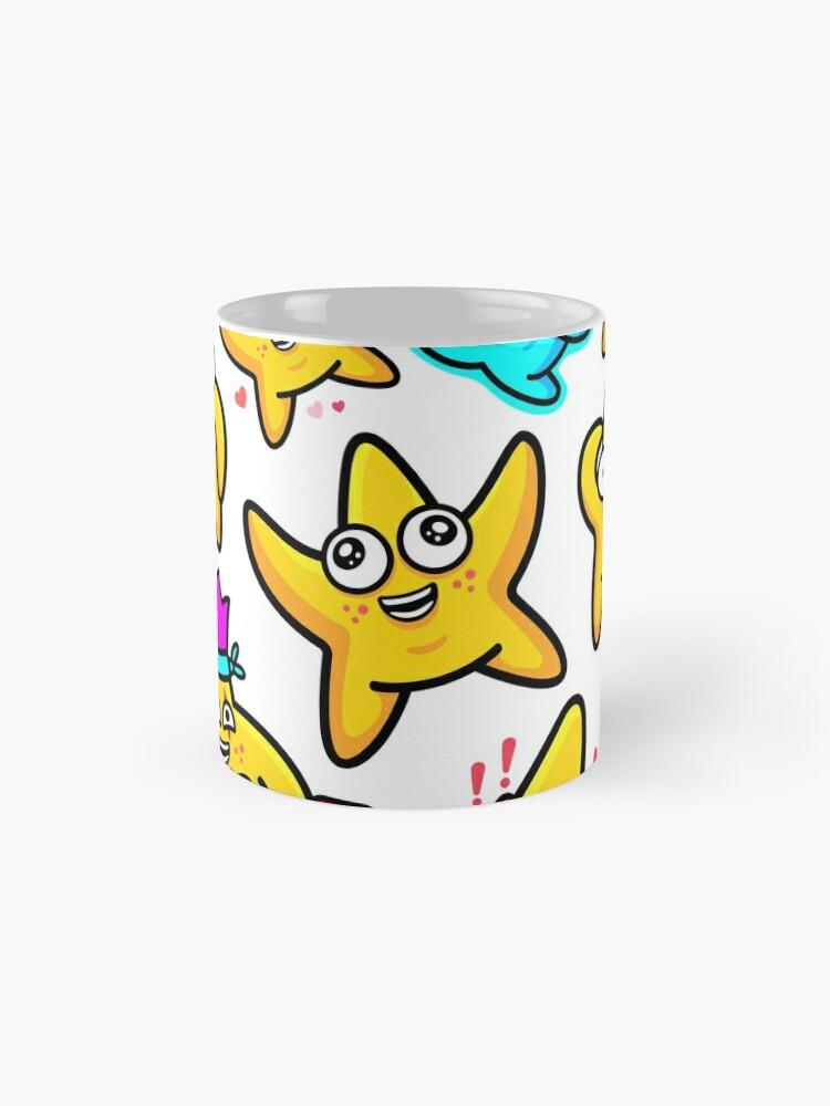 Alternate view of Starfish Pattern Mug