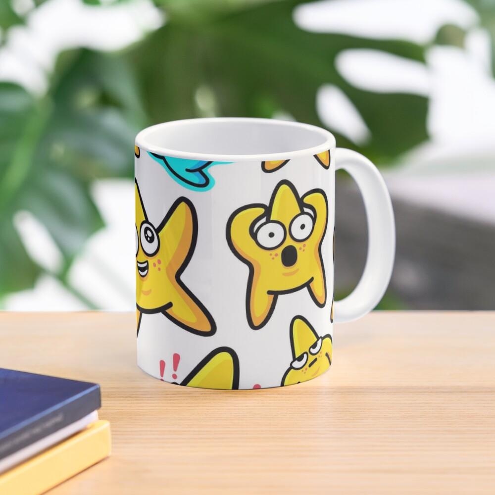 Starfish Pattern Mug