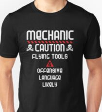 Mechanic Caution T-Shirt