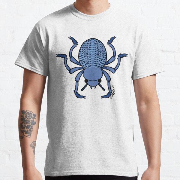 bleu mort feignant coléoptère T-shirt classique