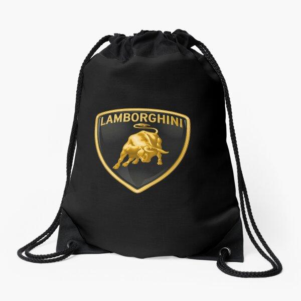 Lamborghini logo Drawstring Bag