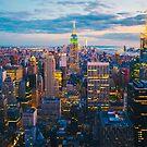 New York City at Night by Giorgio Fochesato