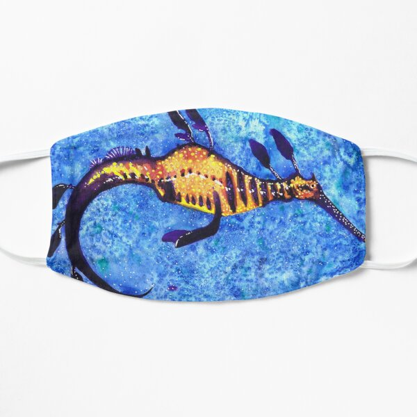 Weedy Sea Dragon Flat Mask