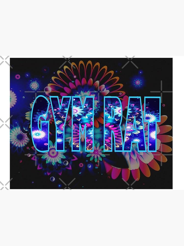 Gym Rat Exclusive Design. Galactic Burst by RipeBananaShop