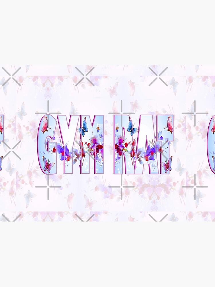 Gym Rat Exclusive Design. Butterflies by RipeBananaShop