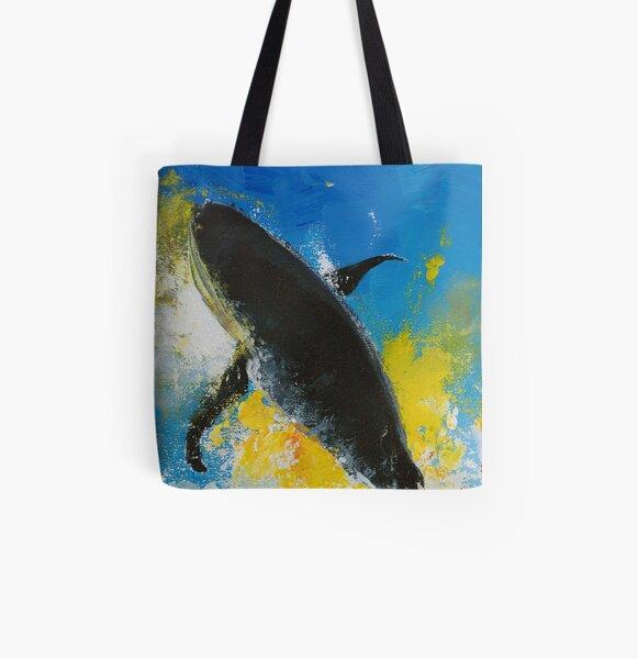 Baleine Tote bag doublé