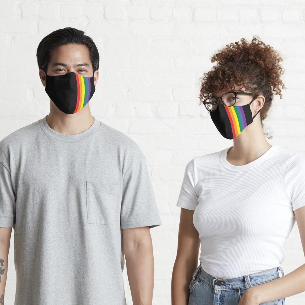 Rainbow Pride LGBT Strip  Mask